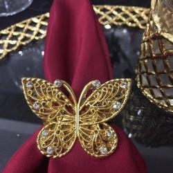 Kelebek Ferforje Peçetelik