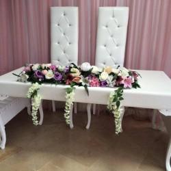 Deri Nikah Masası Düz