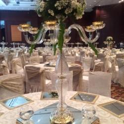 Masa Üstü Cam Şamdan