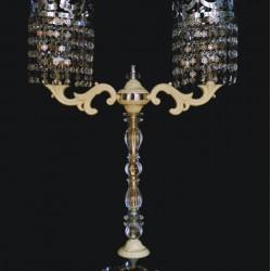 İki Kollu Ferforje Şamdan