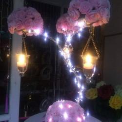 Ledli Tiffany Şamdan